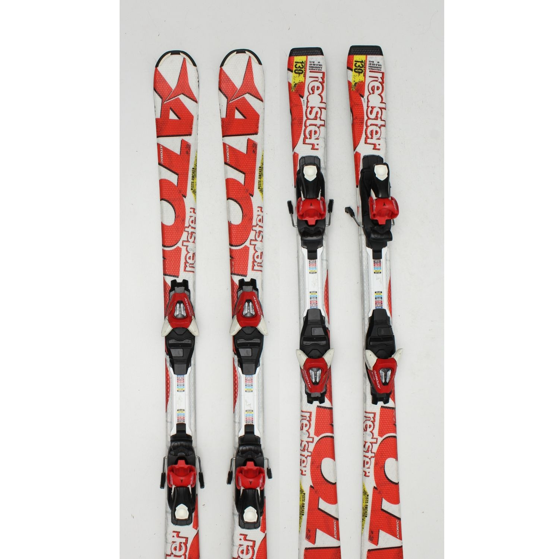 Jazdené bazárové lyže ATOMIC Redster Piste Rocker 140 cm