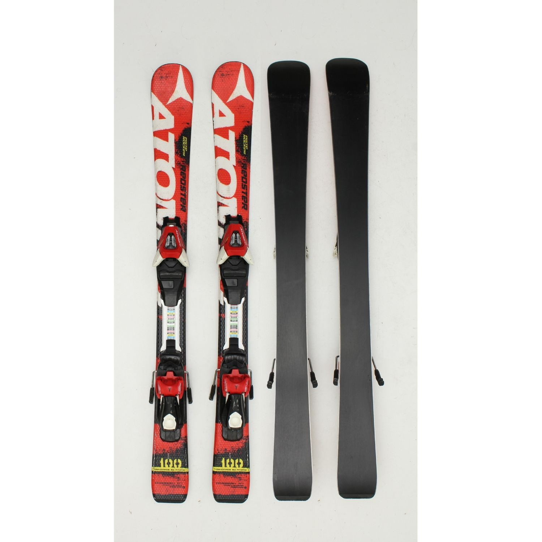 Jazdené bazárové lyže ATOMIC Redster Piste Rocker Red 120 cm