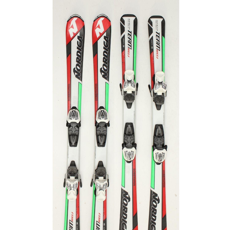 Jazdené bazárové lyže NORDICA Dobermann Race J VII 120 cm