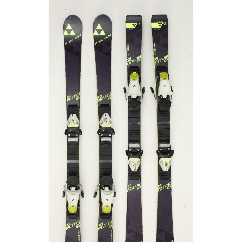Jazdené bazárové lyže FISCHER RC4 World Cup 130 cm