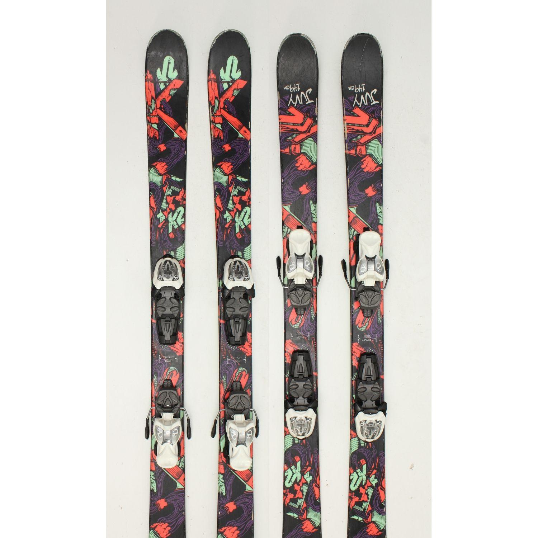 Jazdené bazárové lyže K2 Juvy I 129 cm