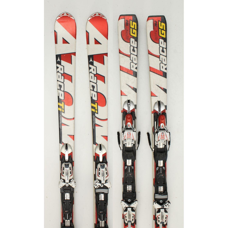 Jazdené bazárové lyže ATOMIC Race Ti 182 cm