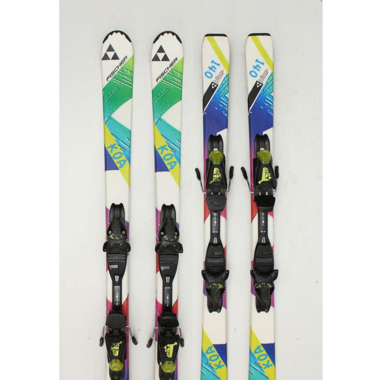 Jazdené bazárové lyže FISCHER Koa Color II 140 cm