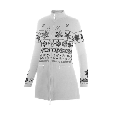 NEWLAND Lady Tunic Full Zip White/Black