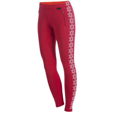 NEWLAND Lady Leggings Red/White