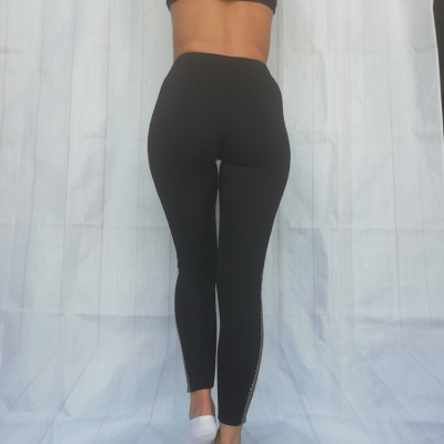 Zimné legíny NEWLAND Lady Leggings Black/White