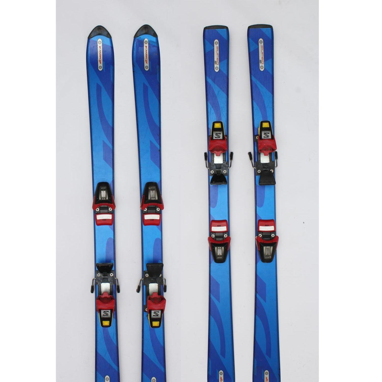 Jazdené bazárové lyže NORDICA Super N Blue 130 cm