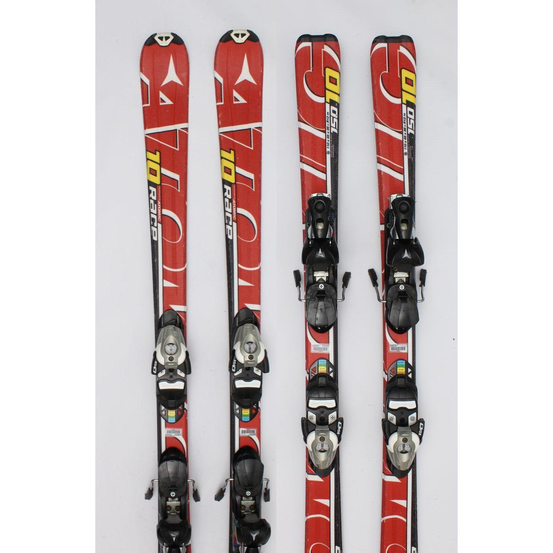 Jazdené bazárové lyže ATOMIC Race Red X 130 cm