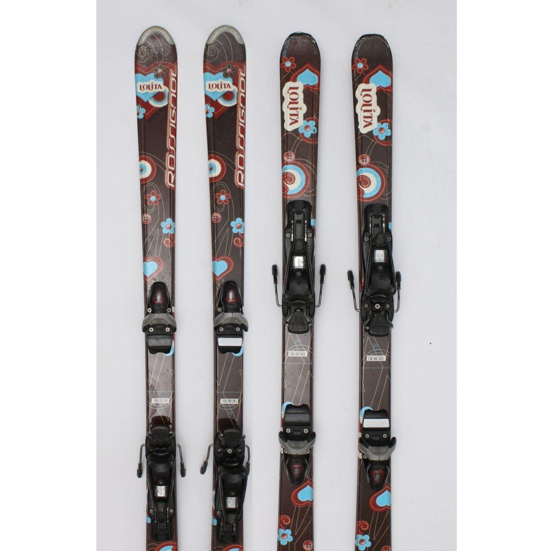 Jazdené bazárové lyže ROSSIGNOL Lolita Brown X 140 cm