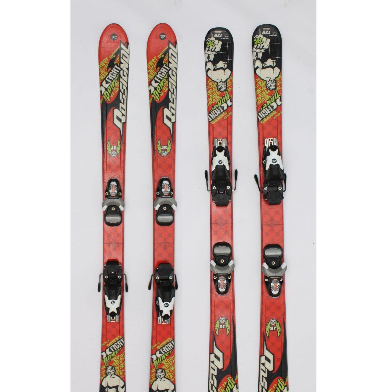 Jazdené bazárové lyže ROSSIGNOL Power Fight 130 cm