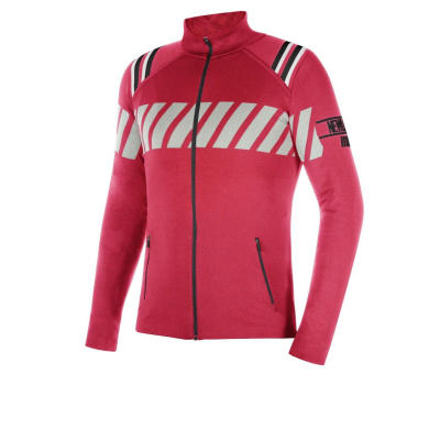 NEWLAND Man Full Zip Red/Black