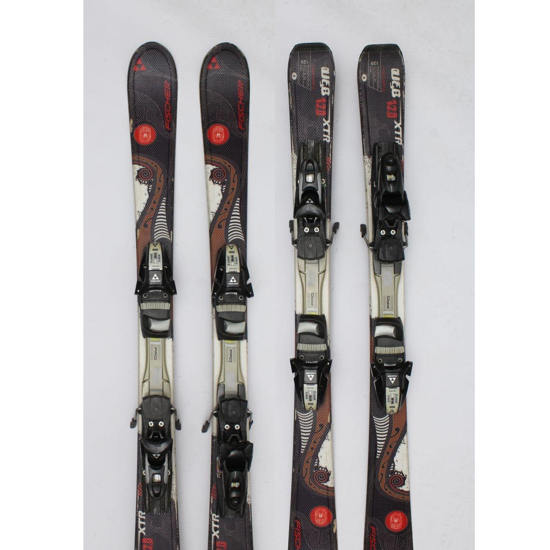 Jazdené bazárové lyže FISCHER Web XTR 120 cm