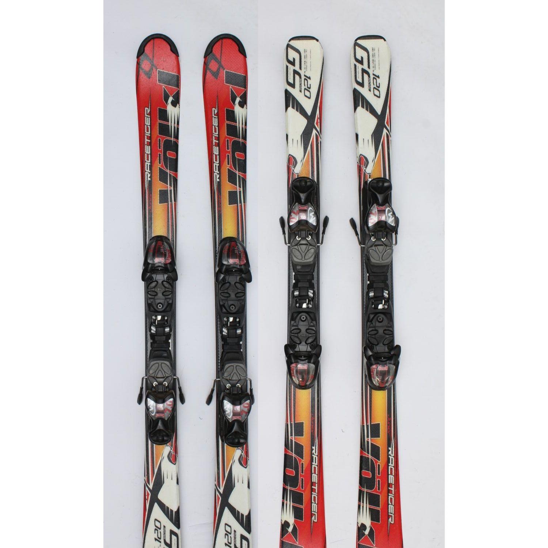Jazdené bazárové lyže VÖLKL Race White Tiger 130 cm