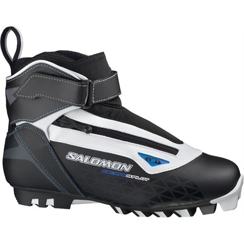 Topánky na bežky SALOMON Escape 9 Pilot SNS Čierno-biela 48