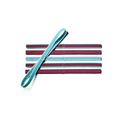 UNDER ARMOUR Mini Headbands (6pk) Purple / Pink Quartz