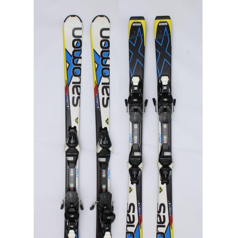 Jazdené bazárové lyže SALOMON X-Race II 140 cm