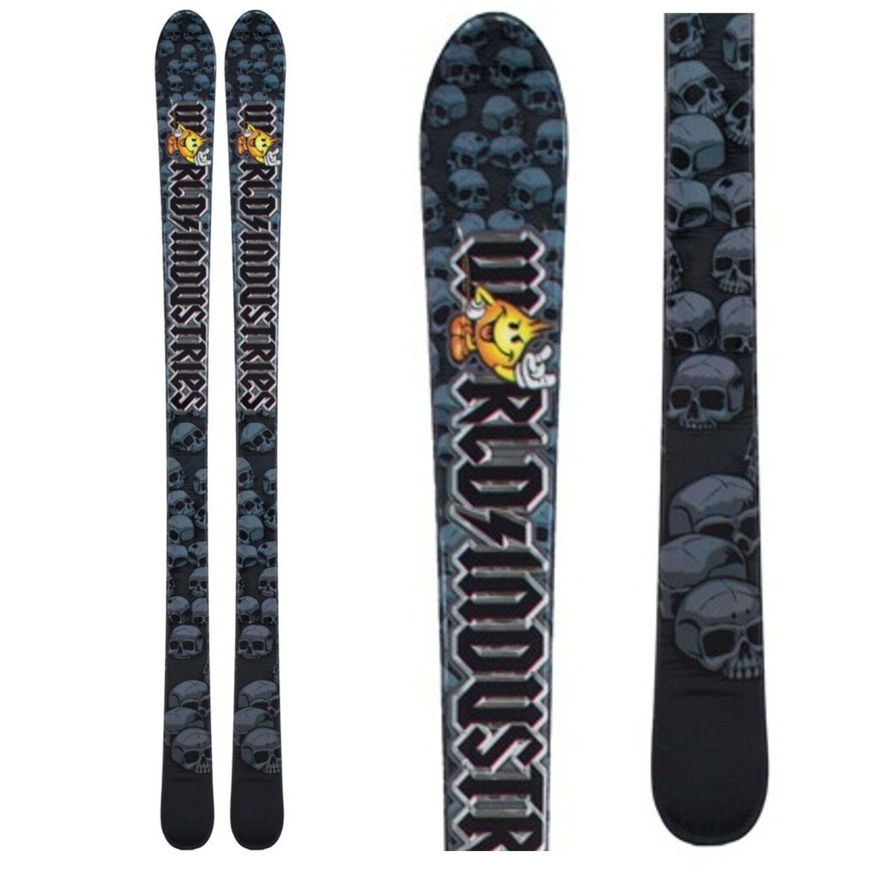Detské lyže World Industries JR s viazaním Tyrolia Modrá 140 cm