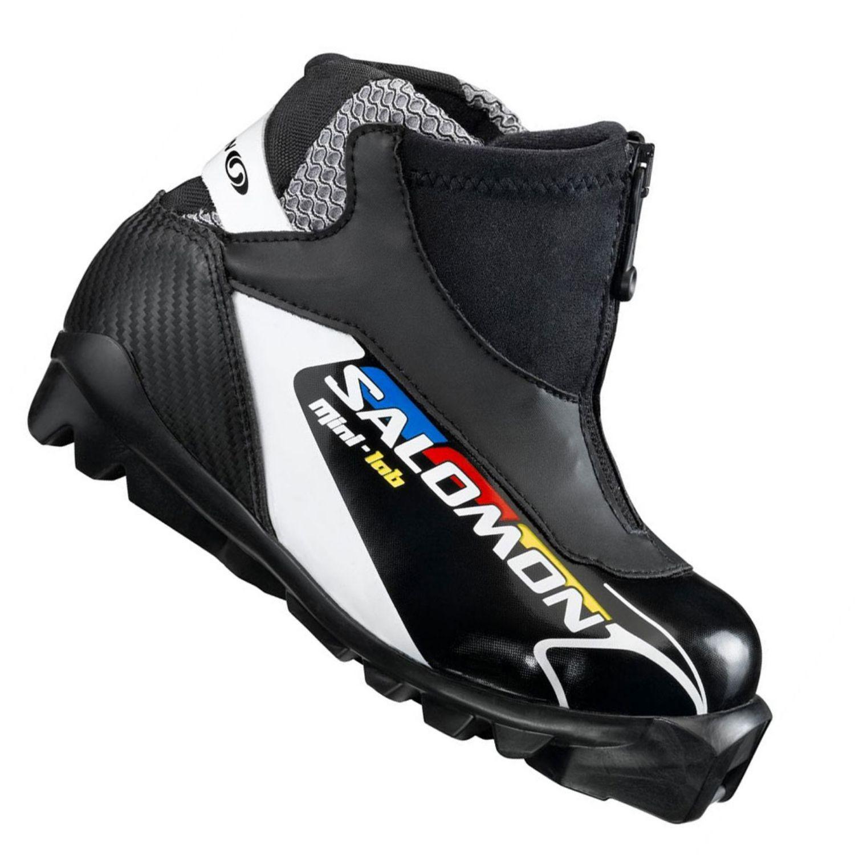 Topánky na bežky SALOMON Mini Lab Jr. Čierna 34
