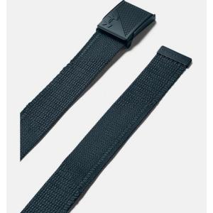 UNDER ARMOUR Mens Novelty Webbing Belt Green/Brown