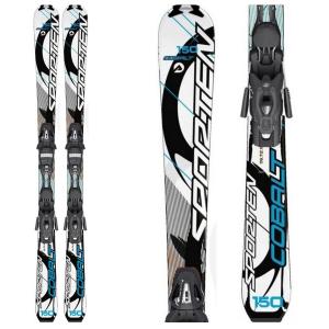 Zjazdové lyže SPORTEN COBALT Blue s viazaním Tyrolia