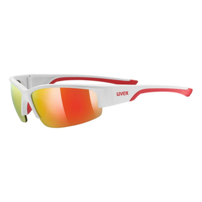 Športové okuliare UVEX Sportstyle 215 White/Red