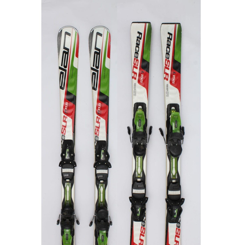 Jazdené bazárové lyže ELAN Race SLR 155 cm