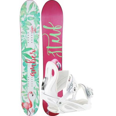 Snowboard STUF Amber Rocker s viazaním Stuf Air