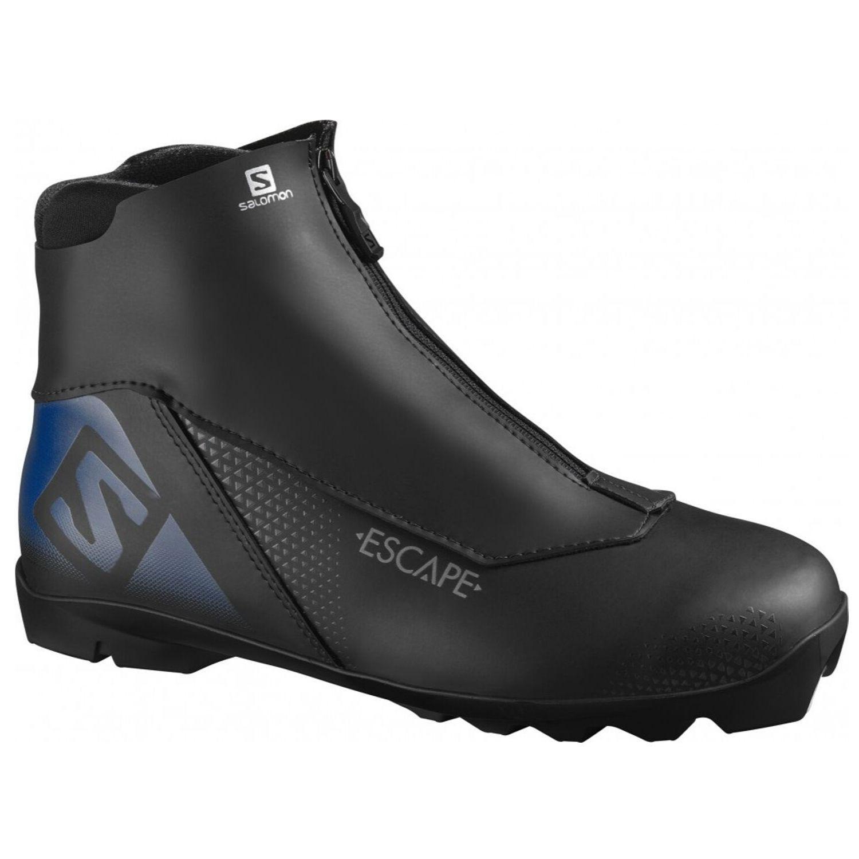 Topánky na bežky SALOMON Escape Prolink NNN Čierno-modrá 44