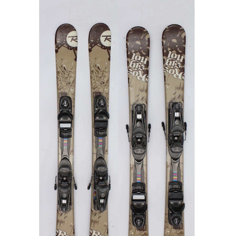 Jazdené bazárové lyže ROSSIGNOL S1 JR 120 cm
