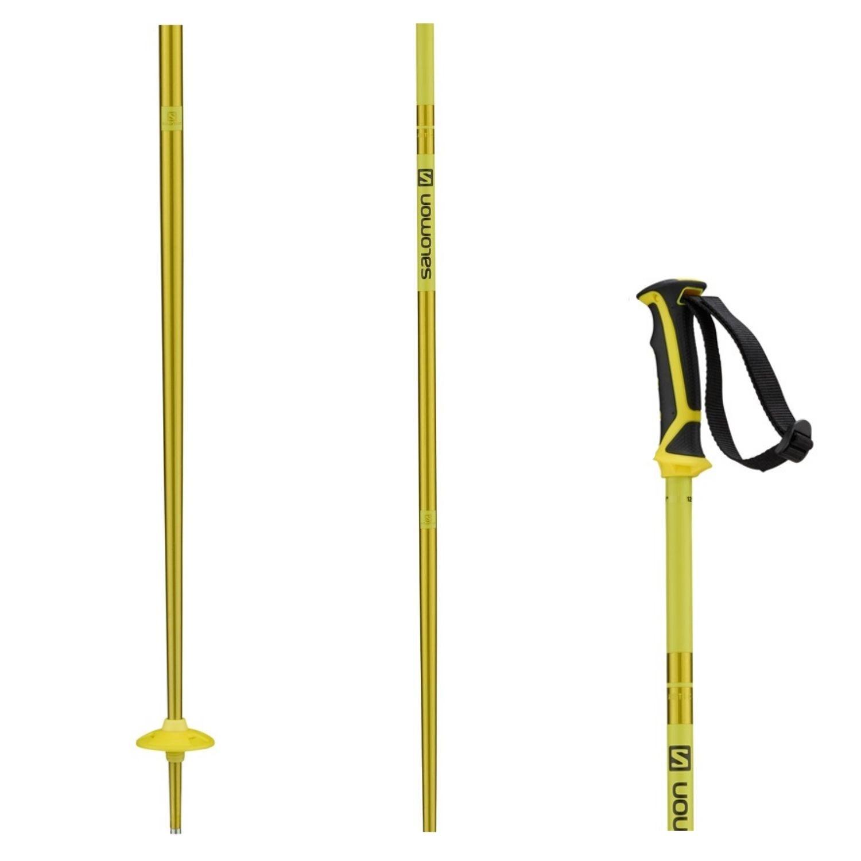 Lyžiarske palice SALOMON Arctic Yellow Žltá 135 cm