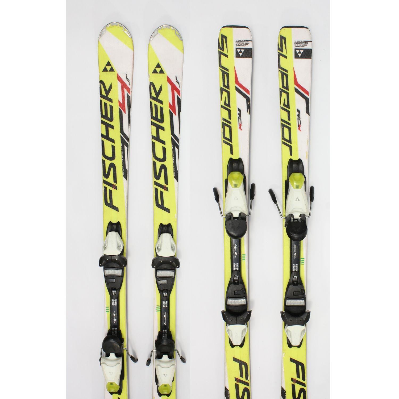 Jazdené bazárové lyže FISCHER RC 4 JR 140 cm