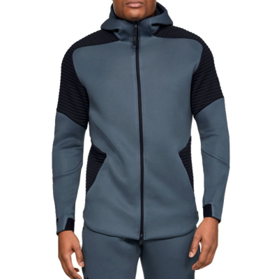 UNDER ARMOUR Move Airgap FZ Hood Grey