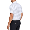 UNDER ARMOUR Performance Polo 2.0 Divot Stripe White