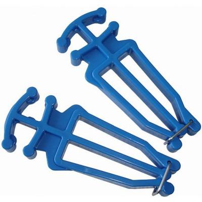 Nosič na bežecké lyže a palice Blue