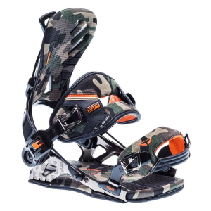 Snowboardové viazanie SP Fastec ALU s.LAB ONE Camo