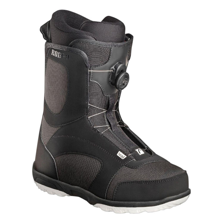 Snowboardová obuv HEAD Rodeo BOA Black Čierna 31.5