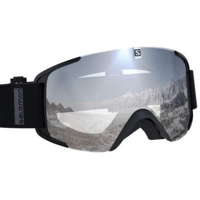 Lyžiarske okuliare SALOMON XView Black/Uni Super White