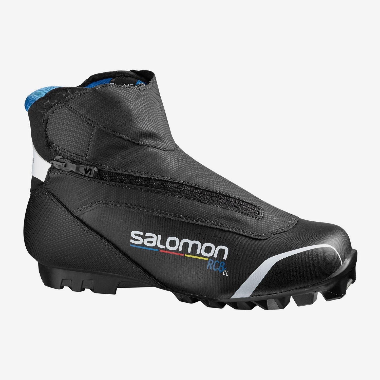 Topánky na bežky SALOMON RC8 Pilot SNS Čierna 44 2/3
