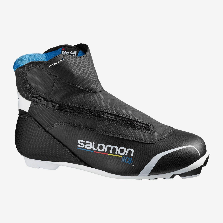 Topánky na bežky SALOMON RC8 Prolink NNN Čierna 44