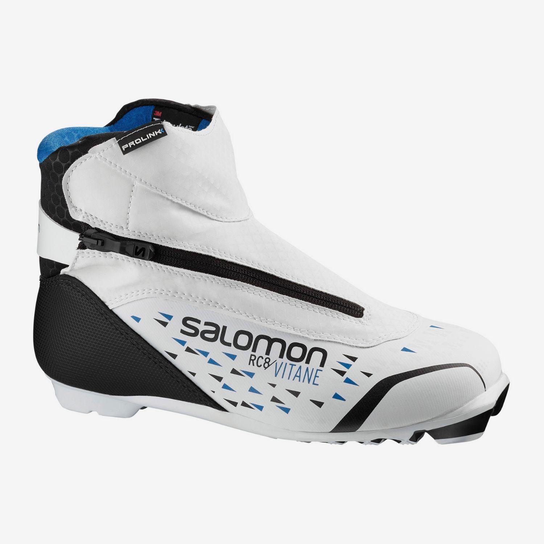 Obuv na bežky SALOMON RC8 Vitane Prolink NNN Biela 37 1/3