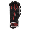 Lyžařské rukavice BRIKO Gar EW - Extra Warm Black/Red