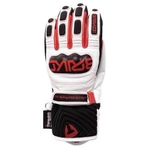 Lyžiarske rukavice BRIKO Gara EW Extra Warm White/Red