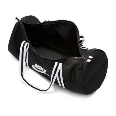 Športová taška NIKE Heritage Duffle Black / White