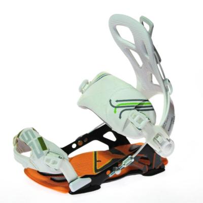 Snowboardové viazanie SP Fastec ALU Orange / White