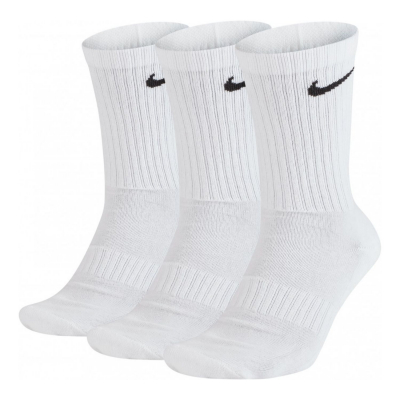Ponožky NIKE Everyday Crew 3-Pack White