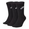 Ponožky NIKE Evry Essential Crew 3-Pack Black