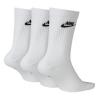 Ponožky NIKE Evry Essential Crew 3-Pack White