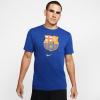 Tričko NIKE FC Barcelona Blue