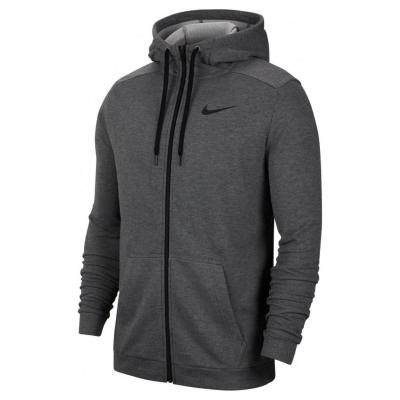 NIKE M NK Dry FZ Fleece Charcoal / Black