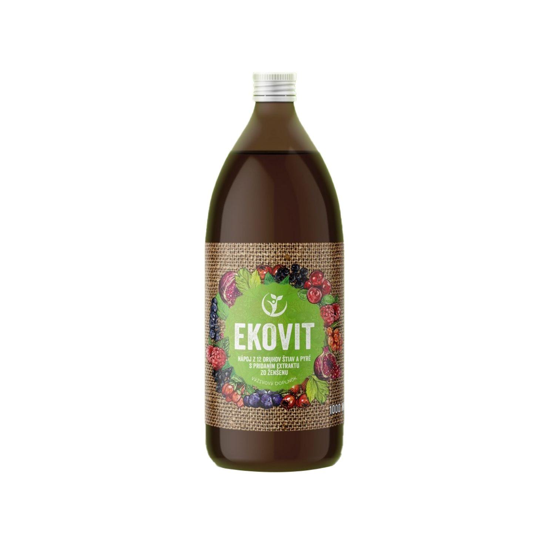 EkoMedica EKOVIT 100% šťava - Prírodná imunita 1000 ml
